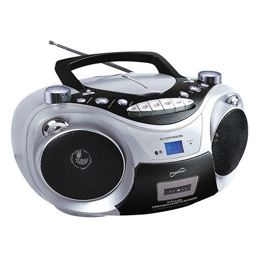 Best Bluetooth Boombox 2020 Supersonic SC 2020 CD/Radio/Cassette Boombox for sale online | eBay