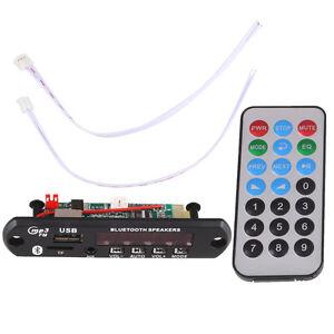 DC-12V-Car-Digital-USB-AUX-Bluetooth-MP3-Decode-Board-Audio-Amplifier-Remote