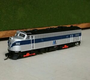 Rapido-N-Scale-EMD-FL9-MTA-5043-Analog-DC-DCC-Ready-NEW