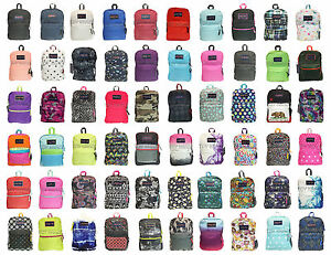 JANSPORT SUPERBREAK BACKPACK ORIGINAL 100% AUTHENTIC SCHOOL BAG ...