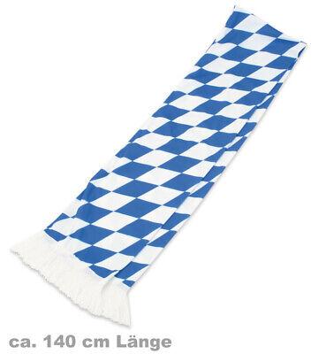Aktiv Jerseyschal Bayern Bavaria Blau-weiss Schal Feine Verarbeitung