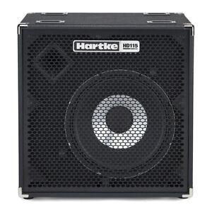 hartke hydrive hd115 1x15 bass guitar speaker cabinet 500w 8 ohms 809164020202 ebay. Black Bedroom Furniture Sets. Home Design Ideas