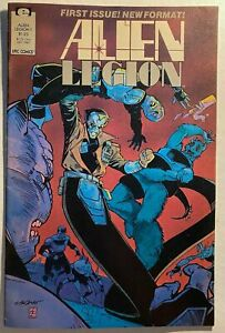 ALIEN-LEGION-1-English-7-0-VERY-FINE-EPIC-Comics-1987