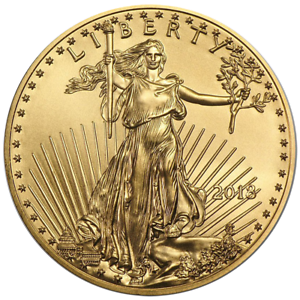 2018 $50 American Gold Eagle 1 oz Brilliant Uncirculated
