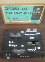 White Rodgers Time Delay Relay 24a51-10