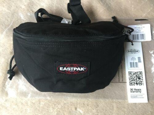2 L Eastpak Springer Bum Bag Black New. 23 cm