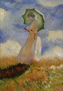 Hand-Painted-Oil-Painting-Repro-Claude-Monet-Woman-with-a-Parasol-24x36in