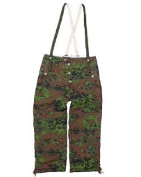Wehrmacht German Winter Wendehose Eichentarn Schneetarn snow camo Hose Hose camo pants XL 5d0d26