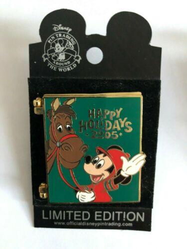 Disney Pin  LE Saratoga Springs Resort /& Spa Happy Holidays 2005