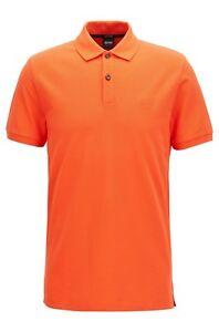 54b9f523 BOSS HUGO BOSS Pallas Polo Shirt Regular Fit Short Sleeve Logo ...