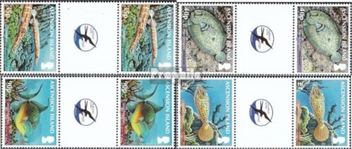Ascension 1170ZS1173ZS between steg couples mint never hinged mnh 2012 Fish the