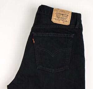Levi's Strauss & Co Hommes 615 02 Vintage Orange Étiquette Jean - Taille W38 L32
