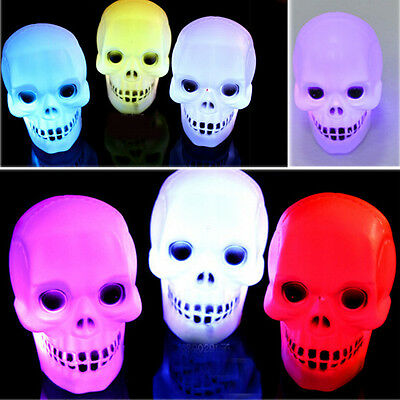 Party Decoration Prop Bedside Table Halloween Lamp Led Pumpkin Skeleton  Hot