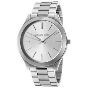 Michael-Kors-MK3178-orologio-solo-tempo-con-cassa-e-bracciale-in-acciaio-Donna