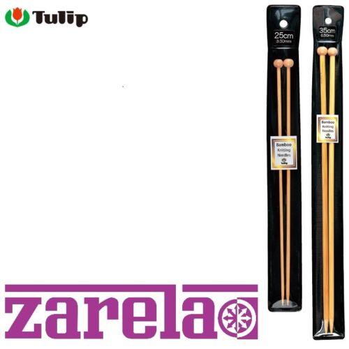 25 cm et 35 cm *** Tulipe en bambou Aiguilles à tricoter made in Japan *** 2-12 mm
