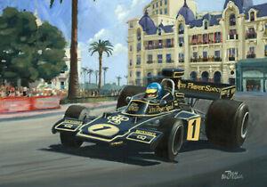 Canvas-1974-Monaco-Grand-Prix-winner-Ronnie-Peterson-SWE-Toon-Nagtegaal-OE