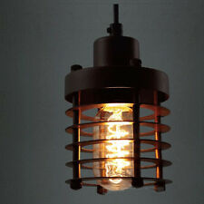 E27 Vintage Iron Wire Cage industrial pendant light Bulb Guard Lamp Shade