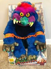 My Pet Monster, Vintage Original 1986 Box, AmToy, With Shackles/handcuffs, RARE!