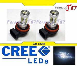 LED-80W-H11-White-5000K-Two-Bulbs-Head-Light-Low-Beam-Replacement-Off-Road