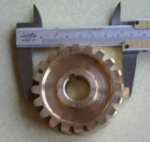 Holzinger SCHNECKENRAD D 70  Zahnrad Getriebe Schneefräse China z.B Güde
