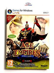 Age-Of-Empires-en-Ligne-PC-Scelle-Produit-Nouveau-Videojuego-Videogame-Retro