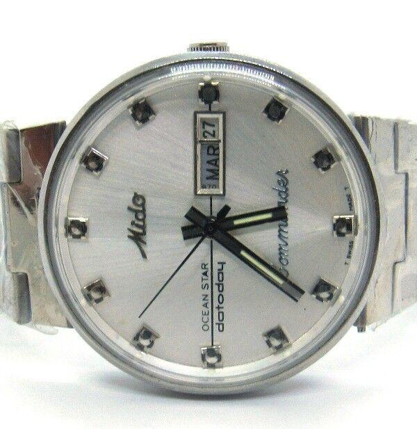 abd9a83167d MIDO Commander Ocean Star Datoday Men s Watch for sale online