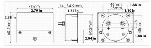 HHO DRY CELL KIT HYDROGEN GENERATOR Starter Kit-No HHO Generator 2qt Tank
