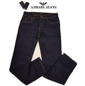 AJ-Armani-Jeans-Mens-Dark-Navy-Blue-30-38-All-Waist-New-BNWT-Free-P-amp-P-J45-Style
