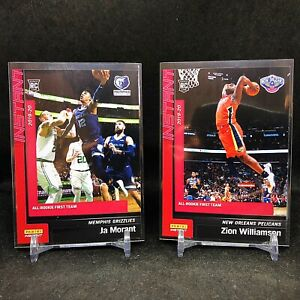 2019-20 Panini Instant All Rookie Team Set; Zion, Ja, Coby, Herro - 10 RC Cards!