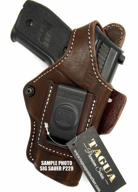 TAGUA IWB AIWB RH Brown Leather Concealment Holster for SIG SAUER P228 P229