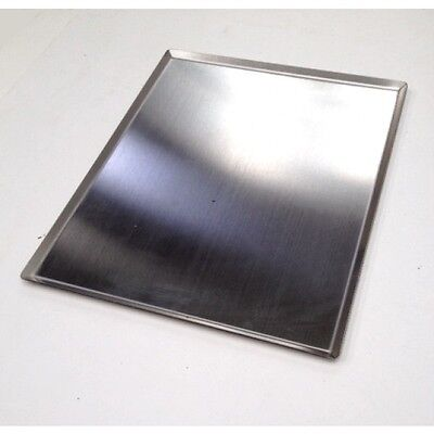 BBQ Hot Flat Plate Stainless Steel for Veg & Meats 269mm x 344mm approx