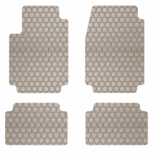 Intro-Tech Hexomat Car Floor Mats Carpet Front Rear For JAGUAR 03-08 S-Type