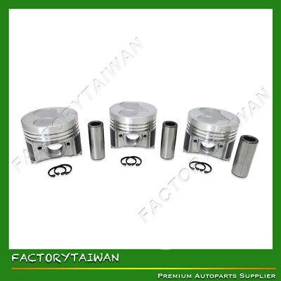 x 3 PCS Factorytaiwan Pistons Set for KUBOTA D905 STD 100/% Taiwan Made