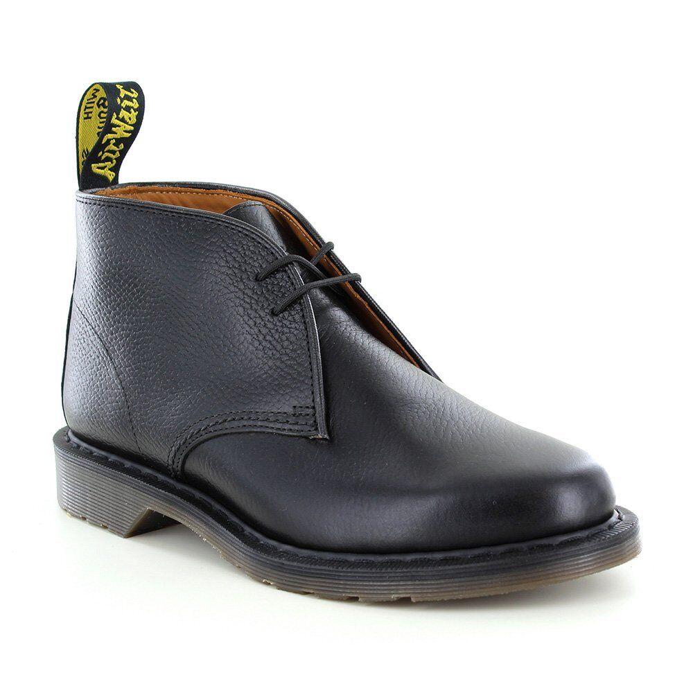DR Martens Sawyer Uomo Leather stivali Desert-Nero