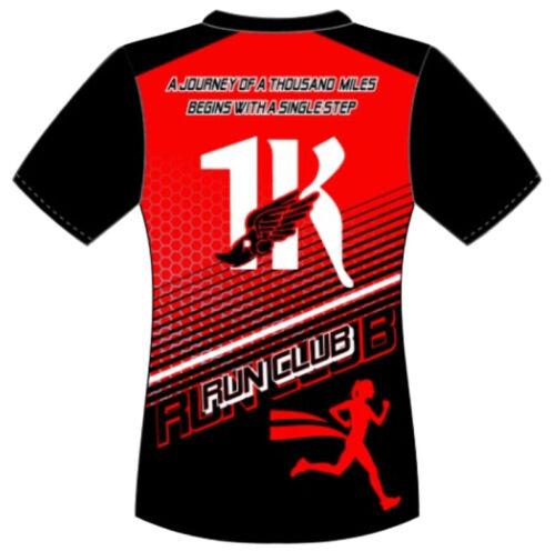 RUN 1000 MILES CHALLENGE SHORT SLEEVE WOMEN/'S PERFORMANCE RACE SHIRT 1KRC