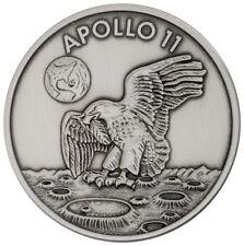 1969-2019 Apollo 11 Robbins Medal 1 oz Silver Antiq  Matte Proof Medal SKU55133