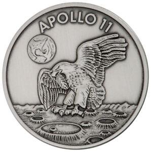 1969-2019-Apollo-11-Robbins-Medal-1-oz-Silver-Antiq-Matte-Proof-Medal-SKU55133