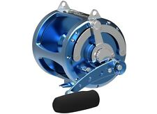 Avet Pro EXW 80/2 Two-Speed Lever Drag Game Reel - BLUE, Right Hand, NEW