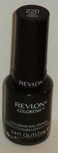 1 Revlon Color Stay Longwear Nail Color Nail Polish Rain Forest #220 by Revlon Color Stay