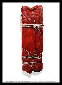 Christo-wrapped-Magazine-poster-son-impresiones-artisticas-con-marco-de-aluminio-en-negro-70x50cm
