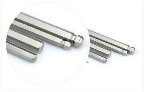 B.S CR-V 1//16 5//16 3//32 1//8 5//32 3//16 7//32 1//4 Allen Hex Key L Wrenches