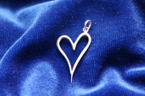 Open Heart design pendant Silver 925 Gift-Occassion Valentines// Mothers day