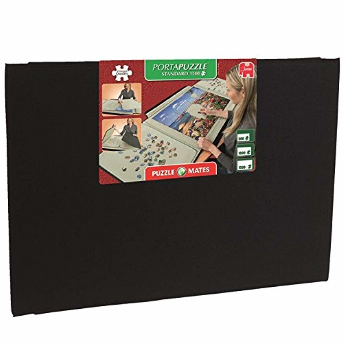 Best Puzzle de conservation Board Portable Sécurité Support 1500 PC Pli Étui de transport
