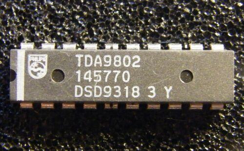 Philips 10x TDA9802 Multistandard VIF-PLL demodulator and FM-PLL detector