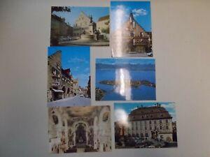 Vintage-Postcards-Postcards-Lindau-Bodensee-6-Piece-K-79-29