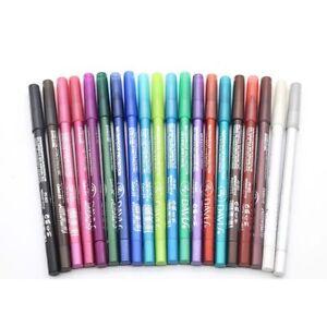 2-Pcs-Maquillaje-Pigmento-Colorido-Duradero-Lapiz-Delineador-Impermeable