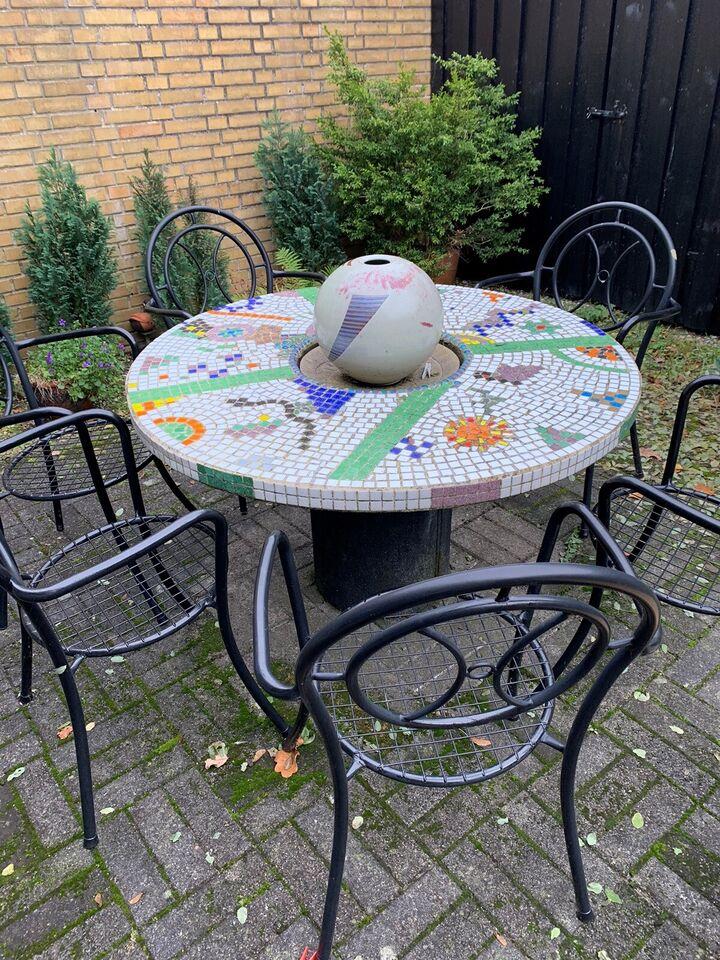 Havebord, Blandede materialer