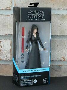 "REY DARK SIDE VISION Star Wars Black Series 6"" Action Figure Rise of Skywalker"