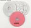Quartz Concrete 4/'/' 50-3000 Grit Wet//Dry Diamond Polishing Pads for Granite M