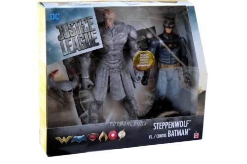 Mattel DC Justice League Steppenwolf vs Contre Batman
